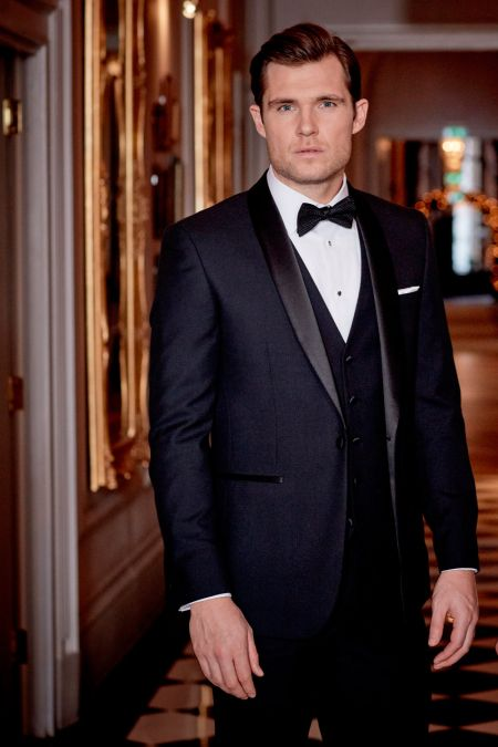 Newman Contemporary Evening Suit - Suits for large men