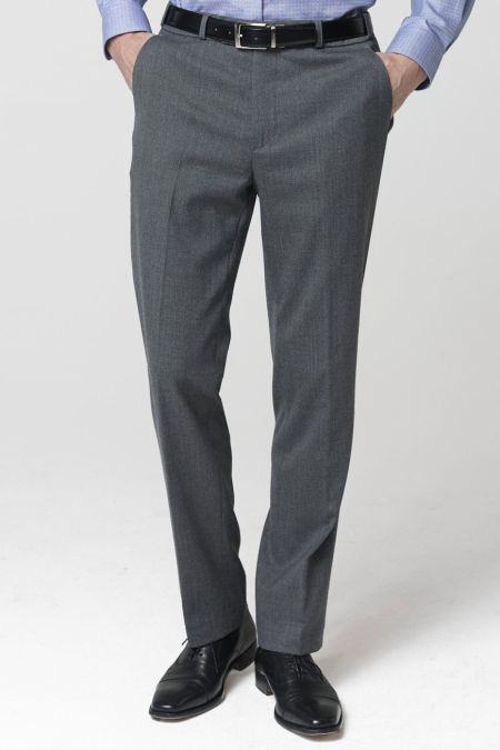 Olney Classic Fit Flannel Trousers