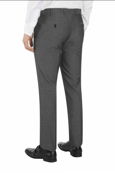 Orte Textured Suit Tailored Trouser