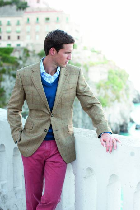 Osprey 100% Wool Summer Tweed Jacket