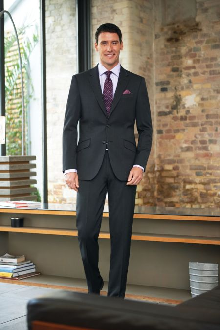Phoenix Tailored Fit Suit - Big mens suits