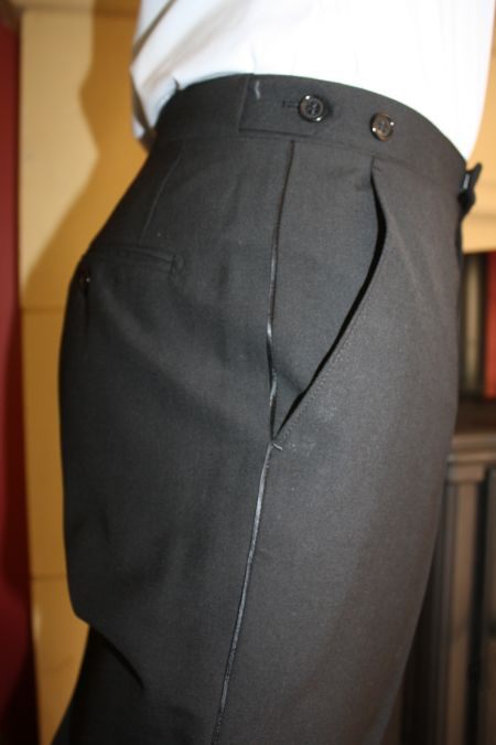 Plain front Dinner Trousers