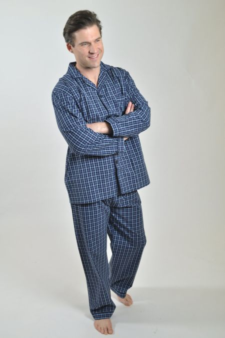 Rael Brook Check Cotton Pyjamas