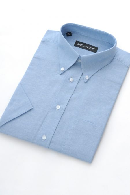 Rael Brook Short Sleeved Oxford Shirt