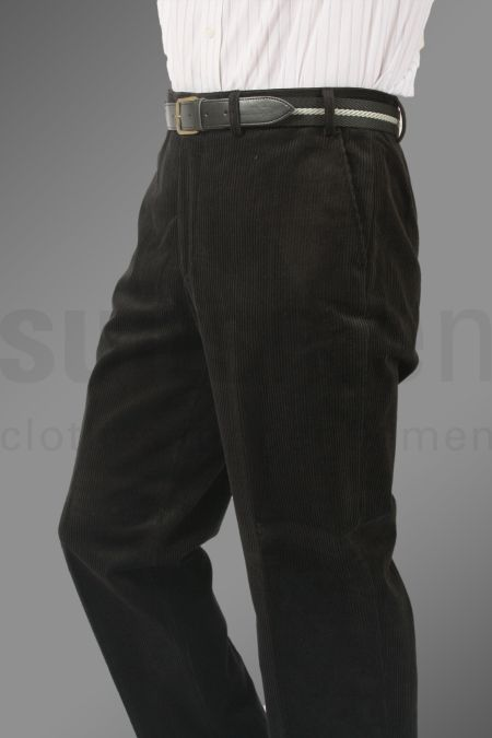 Mens Suit Trousers Plain Pleated Suits Men