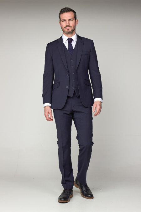 Scott Classic Washable Performance Suit - Plus size mens suits
