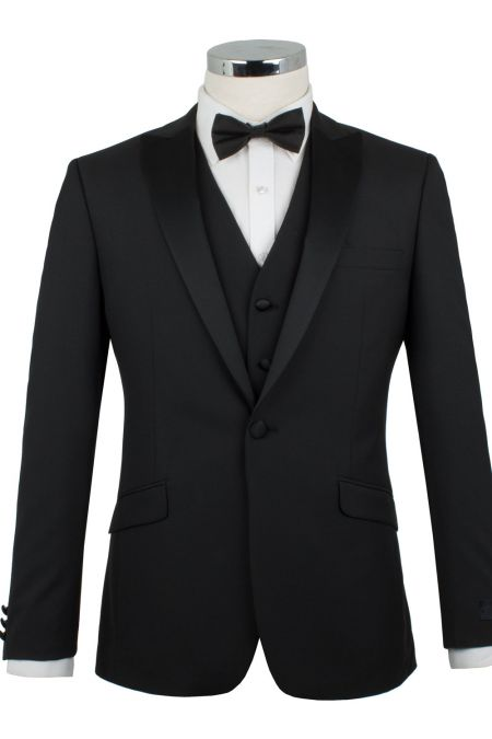 Scott Single Breast Slim Fit Dress Suit Jacket