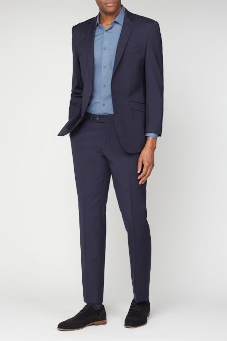 Scott Slim Fit Washable Performance Suit - machine washable suit