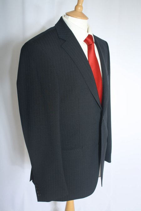 Self Stripe Visconti Style Suit Jacket