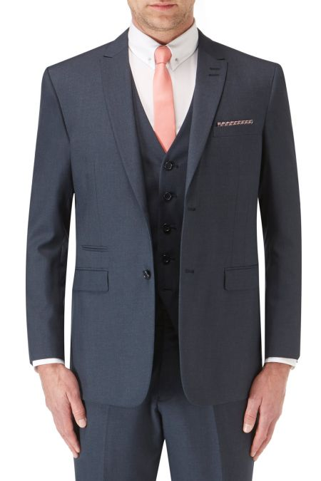 Sharpe Contemporary Tailored Suit - Big mens suits