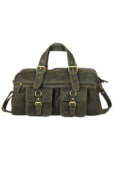 Sheep Leather Travel Bag