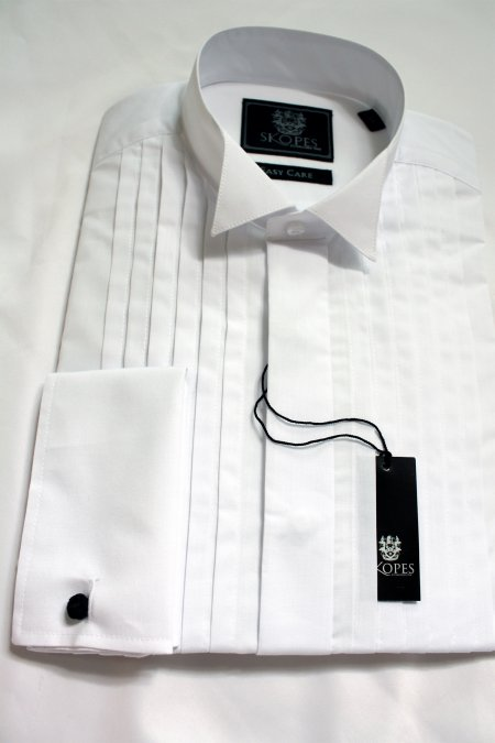 Skopes Full front pleated Dress Shirt.
