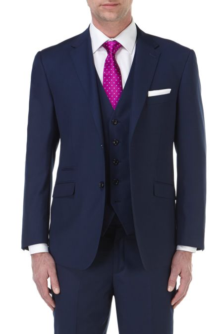 Skopes Joss Tailored fitted 2 button suit - business suits for men