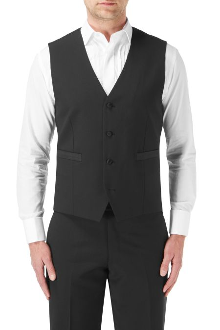 Skopes Latimer Dinner Suit Black single breasted  Waistcoat