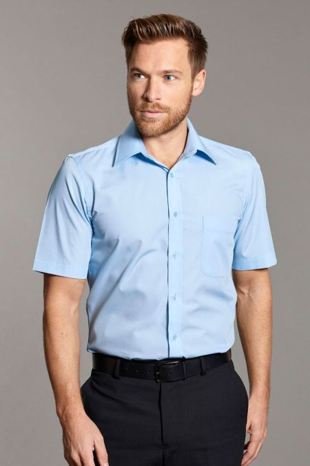 Slim Fit Classic Short Sleeve Shirt by Disley