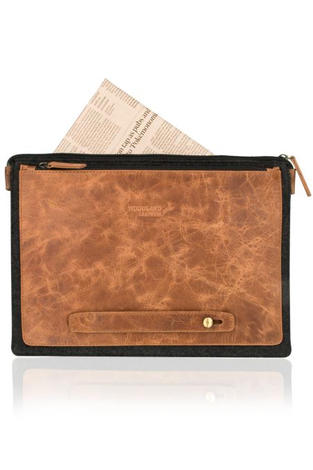 Slim lined attache for Laptop case or Tablet