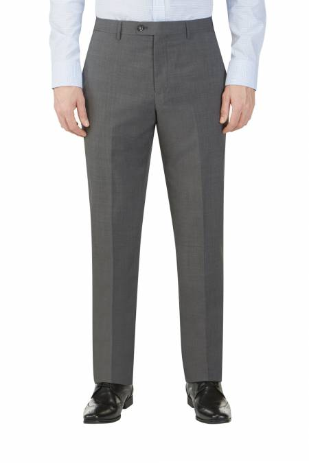 Sterland Charcoal Tailored Suit Trouser