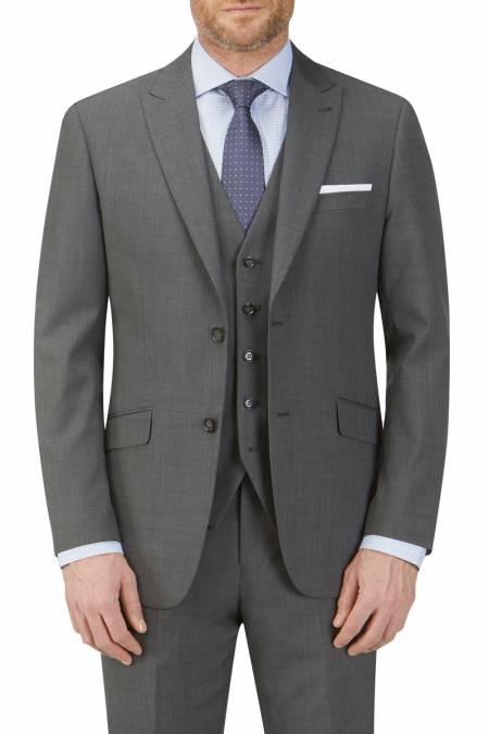 Sterland Tailored Charcoal Suit Jacket