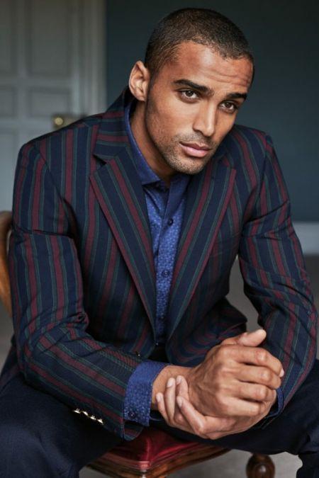 Mens Jackets Blazers Tweed Linen Wool Suits Men