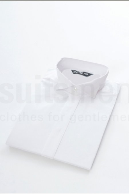 Swept wing collar Double Cuff Formal Shirt.