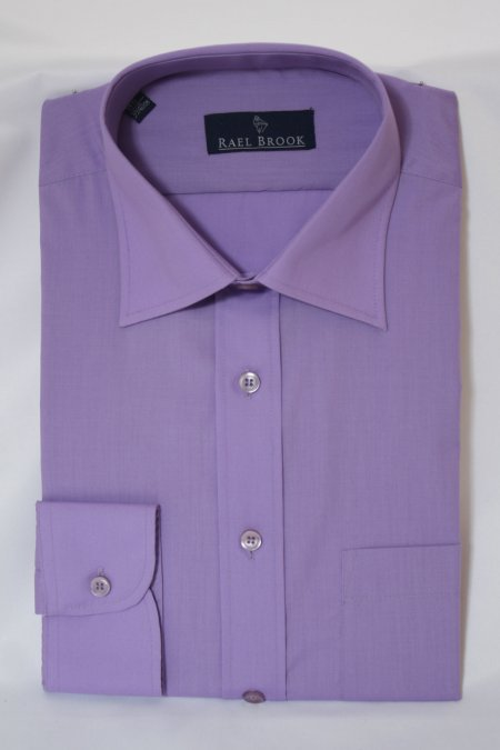Tailored Plain Long Sleeve Shirt by Rael Brook