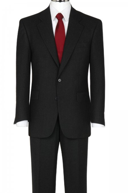 The Label Classic 2 Button Suit - Big mens suits