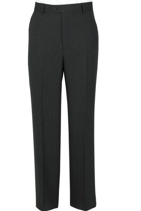 The Label Herringbone Suit Trousers
