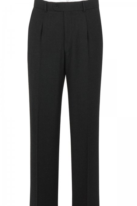 The Label Plain Suit Trousers