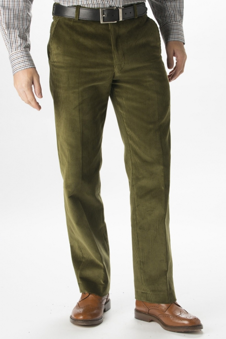 Corduroy pants are a casual wardrobe essential Joseph Abboud men's pants feature five-pocket design in classic wide wale corduroy Men's pants feature front and side slit pockets.