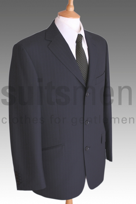 Visconti Style Navy Suit Jacket from Douglas and Grahame