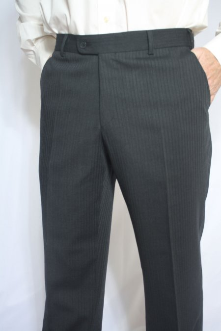 Visconti Style Pinstripe Suit Trousers