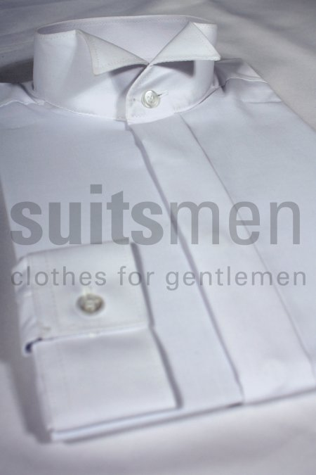 Wing Collar Boys Dress Shirt