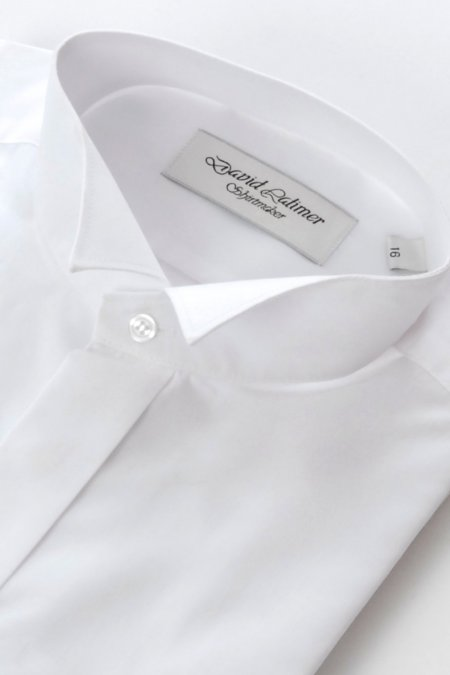 Wing collar Shirt Dual cuff