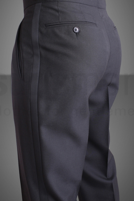 Wool & Mohair Mix Dinner Suit Trousers