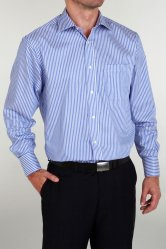 100% Cotton Smart Double Cuff Shirt