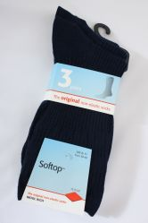 3 pr Wool Softop Socks from HJ Hall