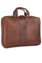 Antique Leather Briefcase from Woodland Leather