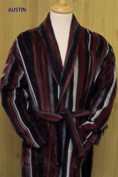 Austin Velour Dressing Gown