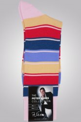 Broad Stripe Socks from Peter Jones