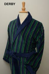 Derby 100% Cotton Velour Dressing Gown