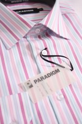 Double Two Paradigm 100% Cotton Striped Shirt