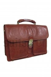 Expanding Soft Mens Briefcase