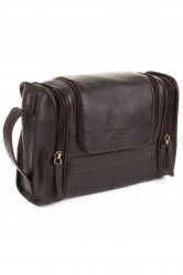 Extra Soft Leather Washbag