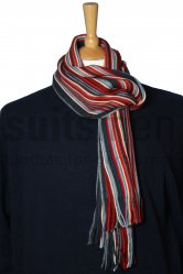 Folkspeare Men's Rustic Stripey Scarf