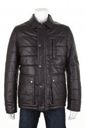 Leather Puffa Coat