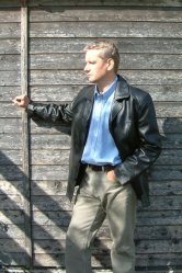 Leather Reefer Jacket
