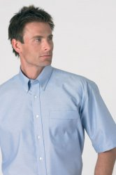 Short Sleeve Non Iron Oxford Shirt