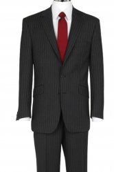 The Label Grey/Pink Stripe Suit