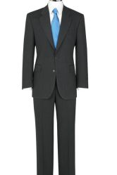 The Label Herringbone Suit