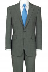 The Label Plain  Single Breasted Suit